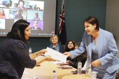AIBC-WIB-Chair-NSW-Opppsition-Leader-Jodi-M-acknowledging-AIBC-WIBs-role